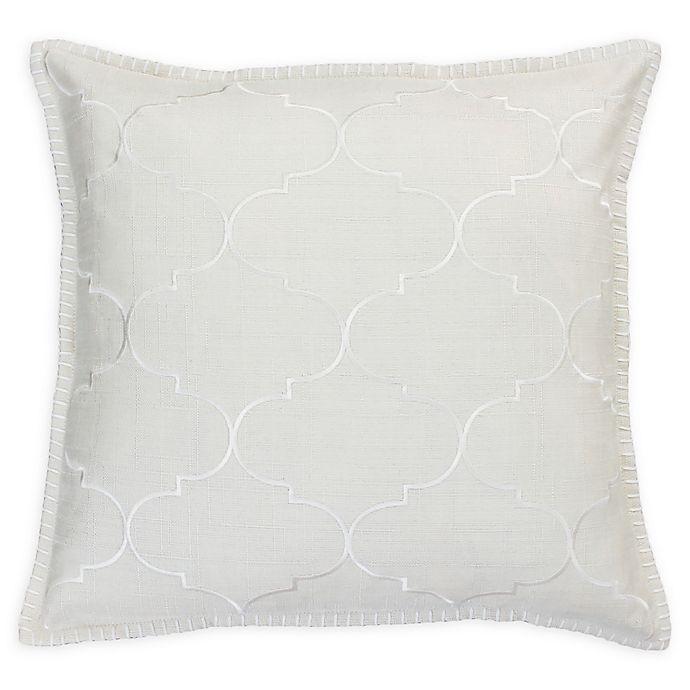 Thro Ava Whipstitch Throw Pillow Bed Bath Amp Beyond