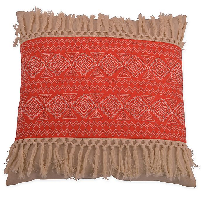 Alternate image 1 for Thro Harriet Embroidered Square Throw Pillow
