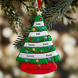 Our Family Tree Personalized Ornament