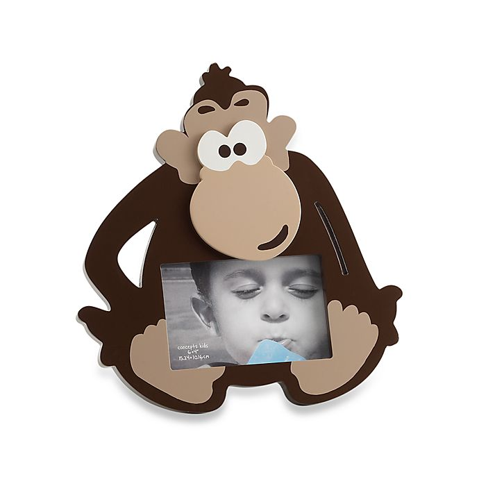 Concepts In Time 6 X 4 Monkey Picture Frame Bed Bath Beyond