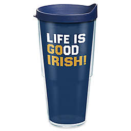 Tervis® Life Is Good® University of Notre Dame Go Team 24 oz. Wrap Tumbler with Lid