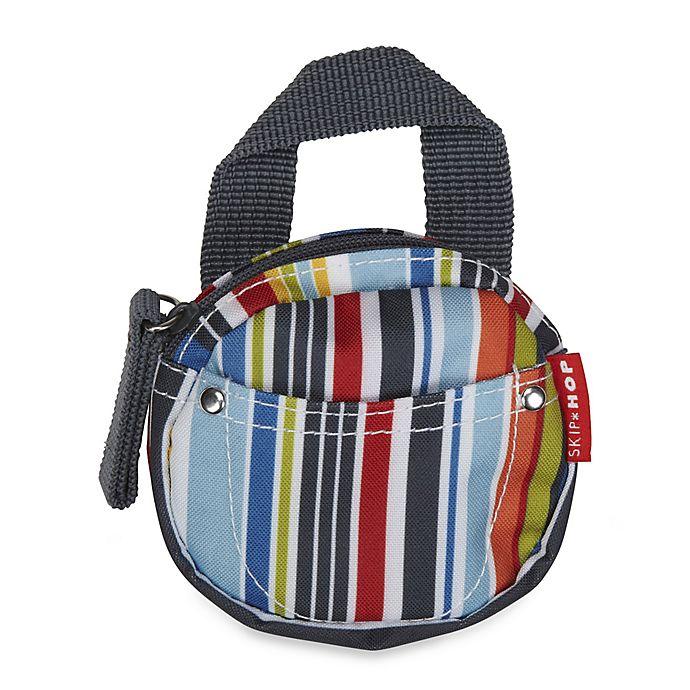 Alternate image 1 for SKIP*HOP® Pacifier Pocket in Metro Stripe