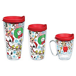 Tervis® Peanuts® Christmas Collage Drinkware with Lid