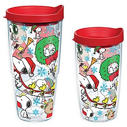 Tervis® Peanuts® Christmas Collage 16 oz. Wrap Tumbler with Lid