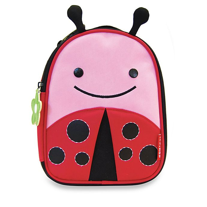 Alternate image 1 for SKIP*HOP® Zoo Lunchies Insulated Lunch Bag in Ladybug