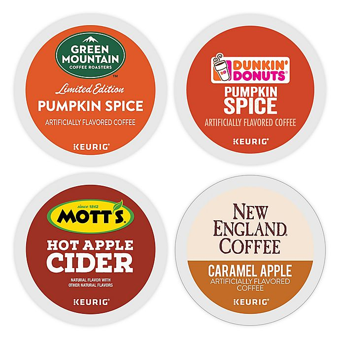 Alternate image 1 for Flavorful Fall Keurig® K-Cup® Pods Collection