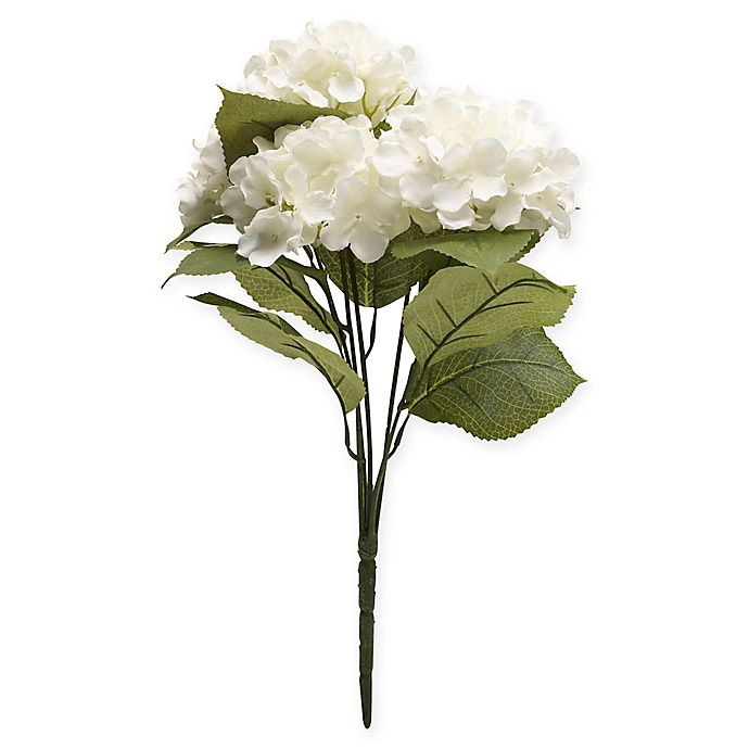Alternate image 1 for Bee & Willow™ Home Artificial White Hydrangea Stem