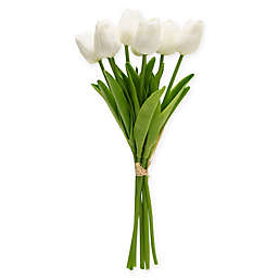 Bee & Willow™ Home Artificial Tulip Bouquet in White