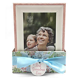 Elsa L Grandma 4-Inch x 6-Inch Frame in Pink (Set of 2)