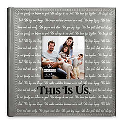 Malden This Is Us 160-Photo Album in Grey