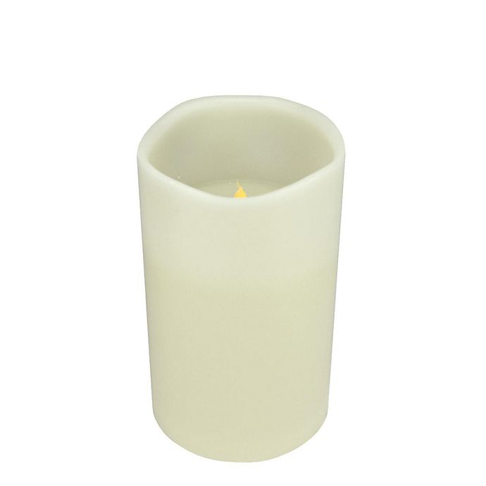 Alternate image 1 for Northlight® 10-Inch Flameless Candle in White