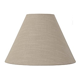 11 Inch Fabric Empire Lamp Shade in Beige