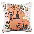 Georgia Regional Square Throw Pillow