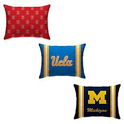Collegiate Rectangular Microplush Standard Bed Pillow Collection
