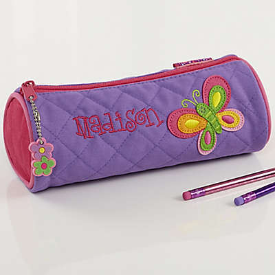 Personalized Butterfly Pencil Case by Stephen Joseph