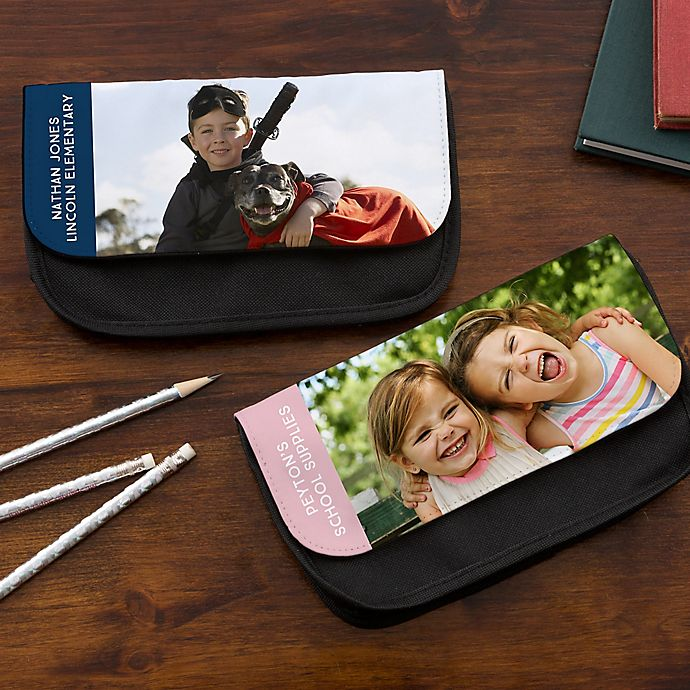 Alternate image 1 for Personalized Photo Pencil Case