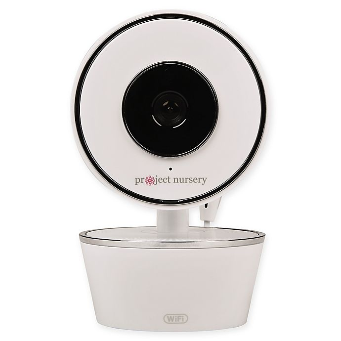 Alternate image 1 for Project Nursery® Smart Nursery Wi-Fi Baby Monitor in White