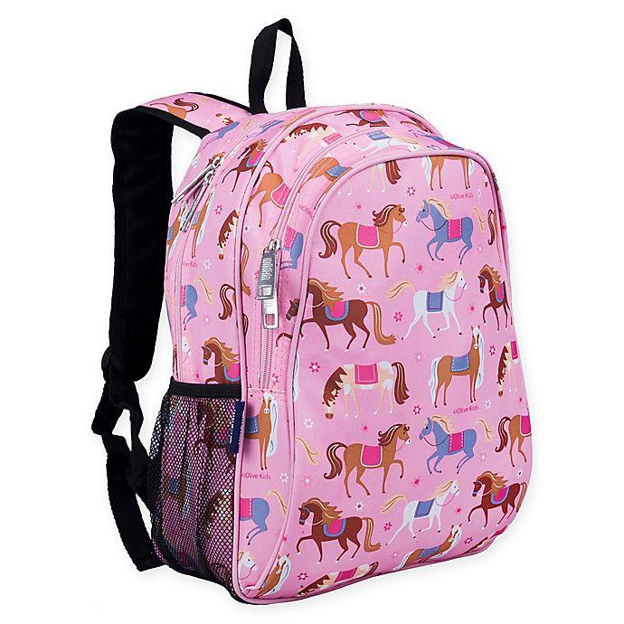 Alternate image 1 for Wildkin Horses Backpack in Pink