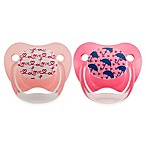 Dr. Brown's® PreVent® 0-6M 2-Pack Wild Pacifiers in Pink