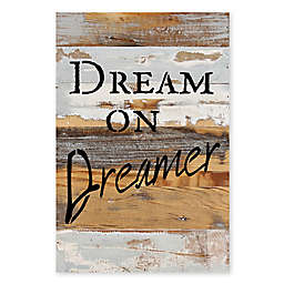 Sweet Bird & Co. Dream on Dreamer Reclaimed Wood Wall Art