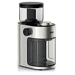 Braun Coffee Grinder in Stainless Steel/Black