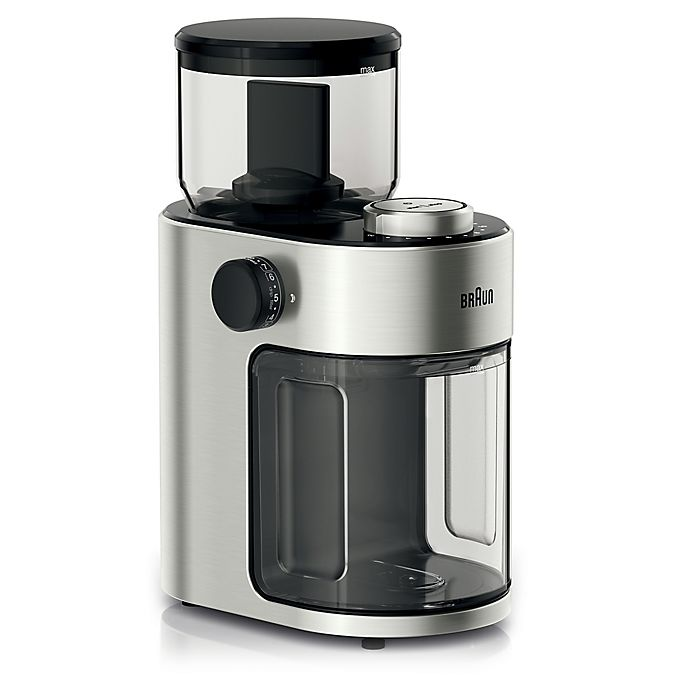 Alternate image 1 for Braun Coffee Grinder in Stainless Steel/Black