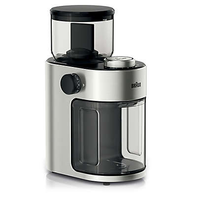 Braun Coffee Grinder in Stainless Steel/Black