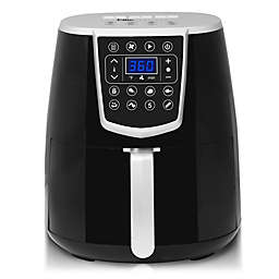 Elite Platinum 4.2 qt. Oil-Free Air Fryer in Black