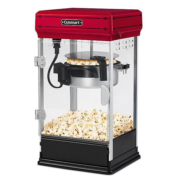 Alternate image 1 for Cuisinart® Classic-Style Popcorn Maker in Red
