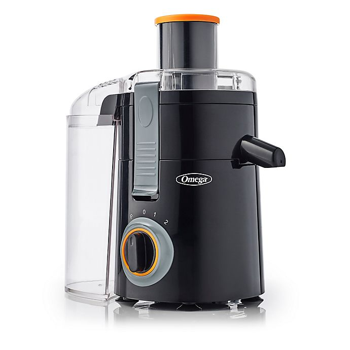 Alternate image 1 for Omega® Wide Mouth High Speed Juicer in Black