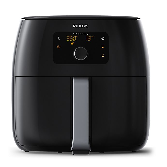 Alternate image 1 for Philips Twin Turbo Airfryer™ XXL in Black