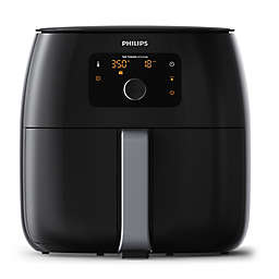 Philips Twin Turbo Airfryer™ XXL in Black