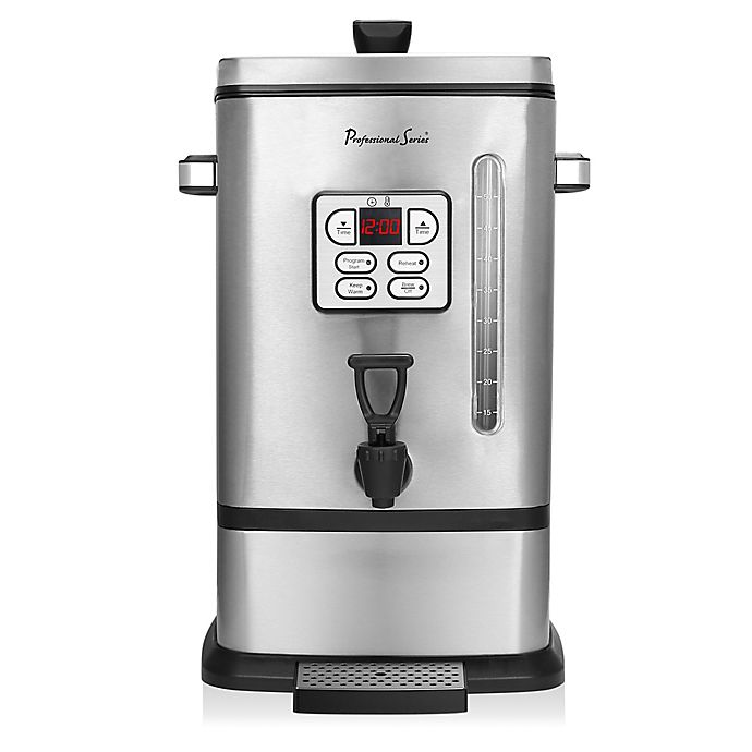 Alternate image 1 for Professional Series® 50-Cup Stainless Steel Digital Coffee Urn