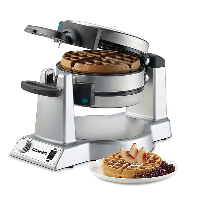 Alternate image 1 for Cuisinart® Double Belgian Waffle Maker in Stainless Steel