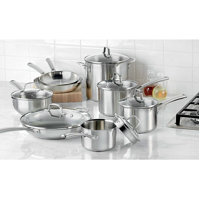Alternate image 1 for Calphalon® Classic Stainless Steel Cookware Collection