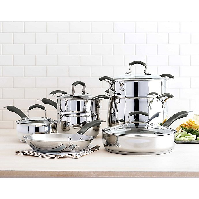Alternate image 1 for Epicurious Stainless Steel Cookware Collection