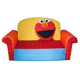 Marshmallow Sesame Street® Elmo Large 2-in-1 Flip Open Sofa