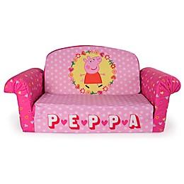 Marshmallow Peppa Pig™ 2-in-1 Flip Open Sofa
