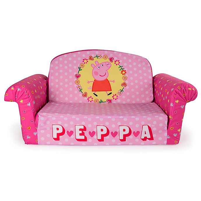 Fabulous Marshmallow Peppa Pig Flip Open Sofa Bed Bath Beyond Machost Co Dining Chair Design Ideas Machostcouk