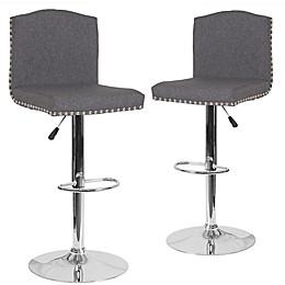 Flash Furniture Bellagio Swivel Bar Stools (Set of 2)