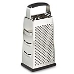 SALT™ 9-Inch Stainless Steel 4-Sided Grater