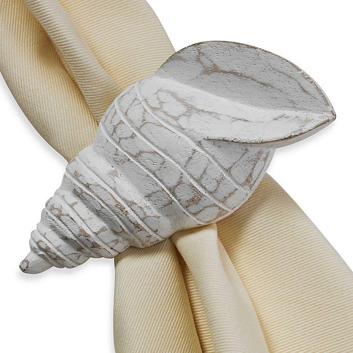 Alternate image 1 for Turban Shell Napkin Ring