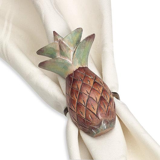Alternate image 1 for Pineapple Napkin Ring