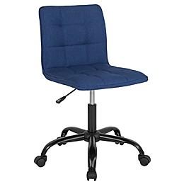 Flash Furniture Swivel Sorrento Chair in Blue