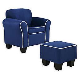 Dwell Home Camden Kids Chair & Ottoman Set