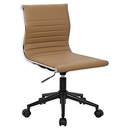 Lumisource Faux Leather Swivel Masters Office Chair