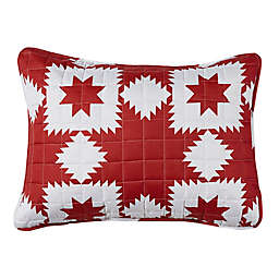 Stars Standard Pillow Sham in Red
