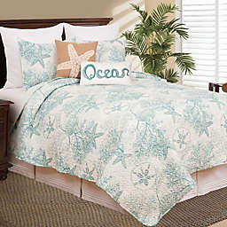 C&F Enterprises, Inc Ocean Treasures Reversible Quilt Set