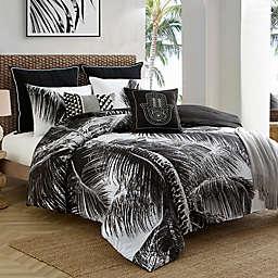 Caribbean Joe Palm Tree Reversible Comforter Set