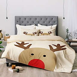 Deny Designs Allysn Johnson Reindeer Comforter Set